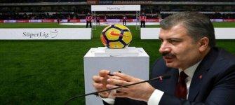 Sağlık Bakanı Fahrettin Koca: Liglerin Başlamasıyla Ilgili Kararın Sorumluluğu Federasyonundur
