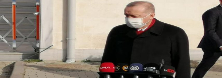 Son Dakika! Cumhurbaşkanı Erdoğan: Pazartesi günü 4,5 milyon aşı gelecek, öncelik sağlık çalışanlarının olacak